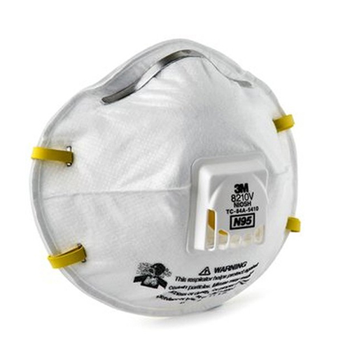 3M N95 Disposable Respirator with Exhalation Valve