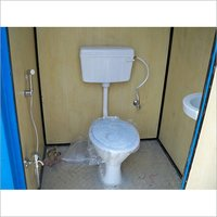 Portable Toilet Block