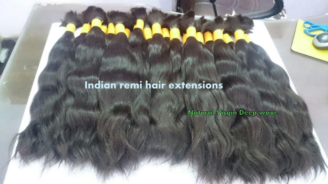 Raw Bulk wavy hair