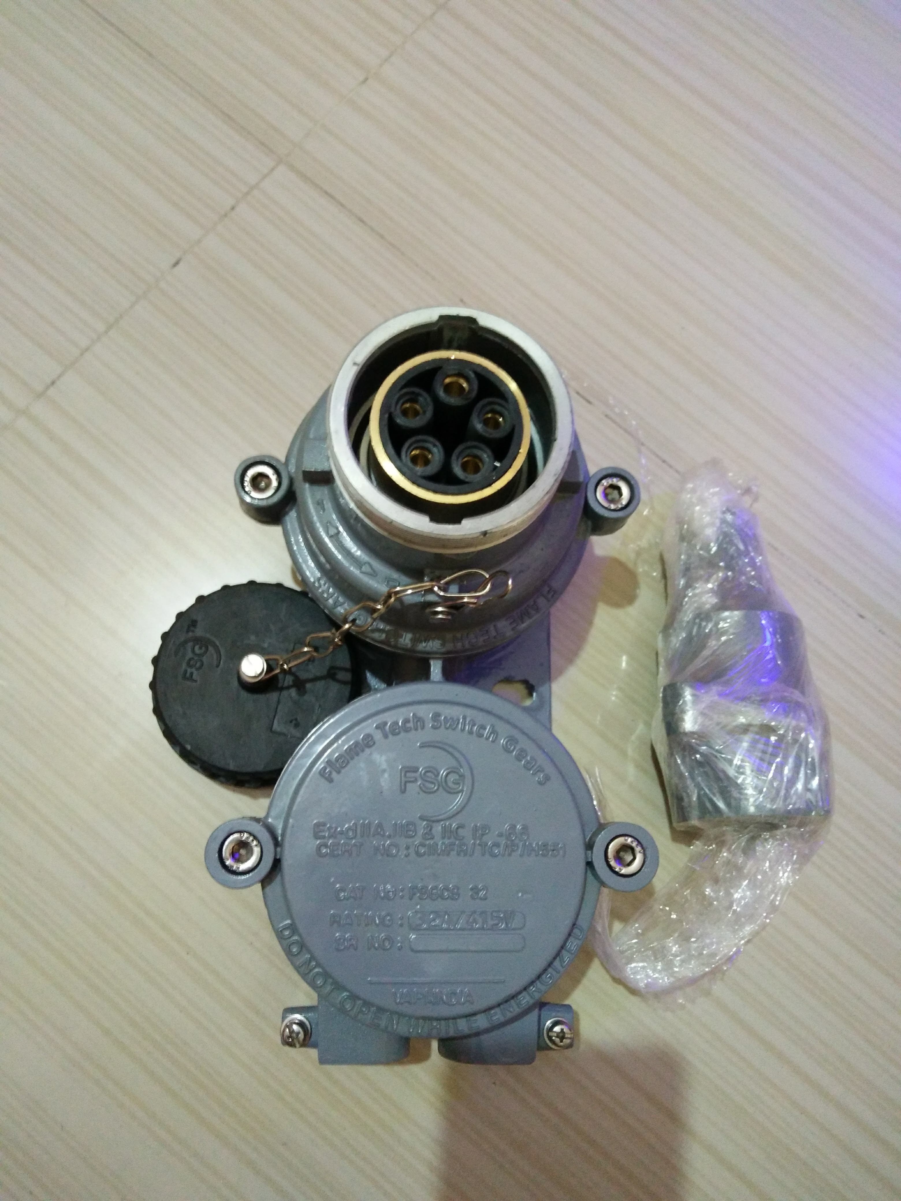 Flameproof Switch Socket