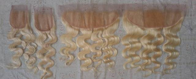 Blond Body Wave  Human Hair