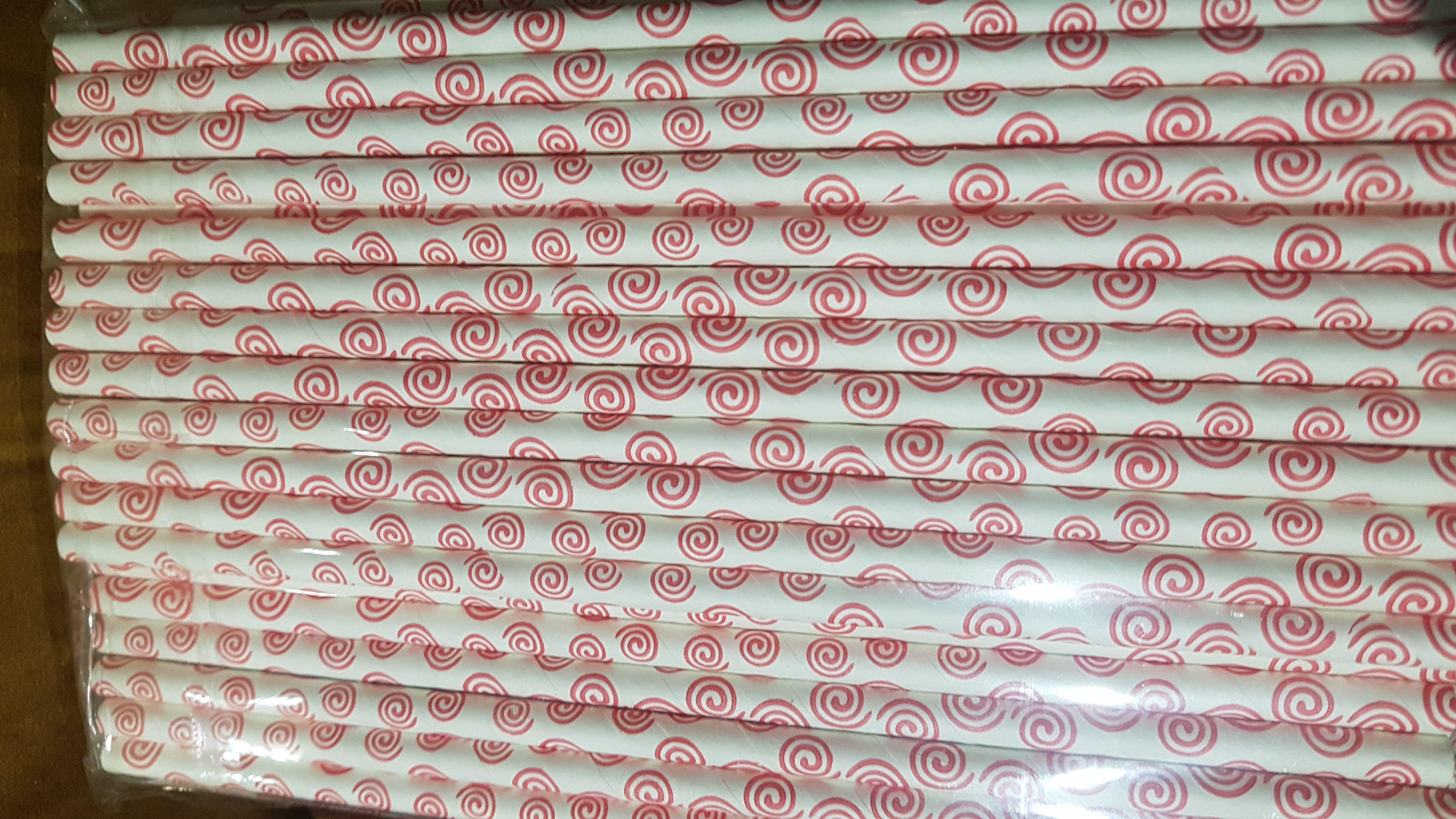 Jalebi - Printed Paper Straw