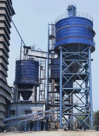 Cement and Flyash silo