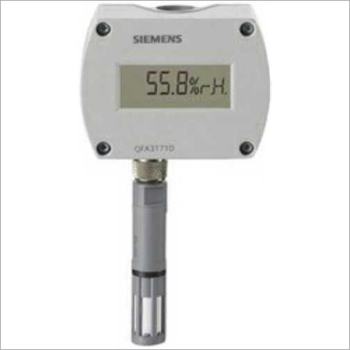 Digital Siemens Humidity Temperature Display