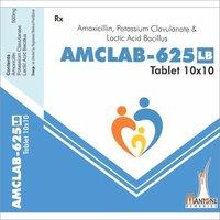 Amoxycillin Potassium Clavulanate And Lactic Acid Bacillus Tablet