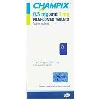 Champix 0.5 and 1 mg