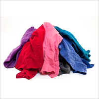 Cotton Waste Cut Cloth Wiper