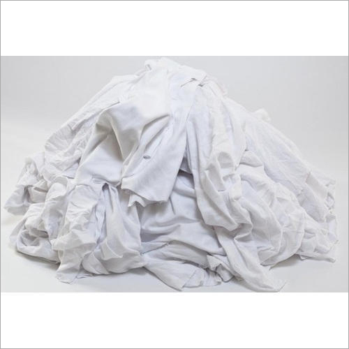 White Cotton Waste Cloth