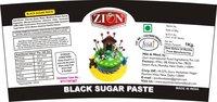 Black Sugar Paste (Fondant)