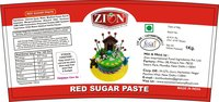 Red Sugar Paste (Fondant)