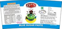 Blue Sugar Paste (Fondant)