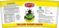 Yellow Sugar Paste (Fondant)