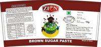 Brown Sugar Paste (Fondant)