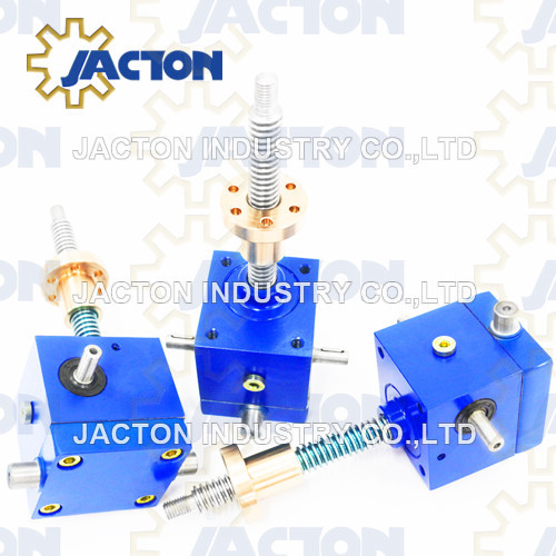 1 ton cubic screw jack featuring a compact and versatile cubic housing