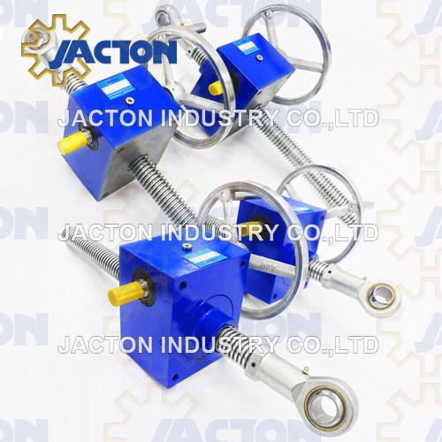 5 Ton Motor and screw jack assemblies can be installed in any position.