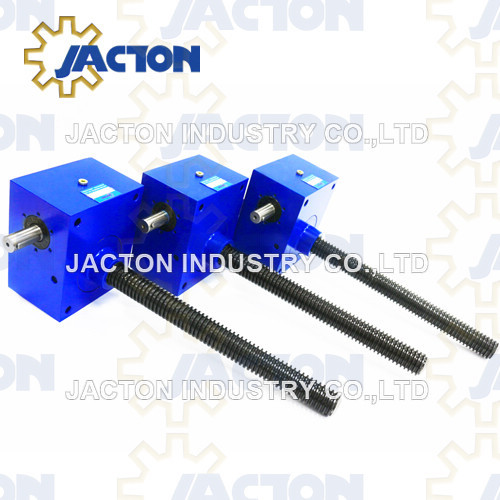 15 Ton Screw Jack Cubic compact design ensures ease of mounting