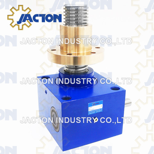 35 ton lifting gear units are available with trapezoidal screw drive