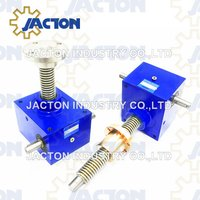 50 ton Cubic Screw Jacks are used wherever controlled lifting, lowering and slewing is required