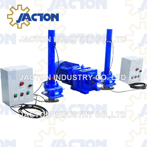 high capacity electric screw jacks 20 ton capacity 2 foot electric actuators