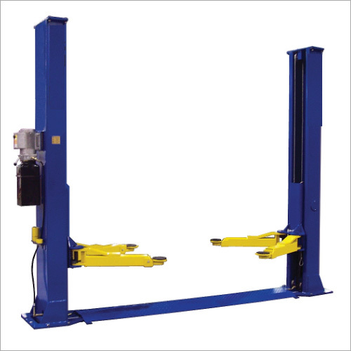 Base Floor Double Cylinder Hydraulic Post Lift