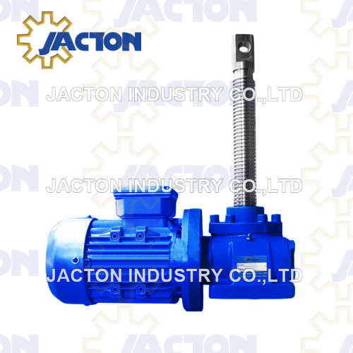 5 ton electric linear screw jack actuator motorized screw jack with motor
