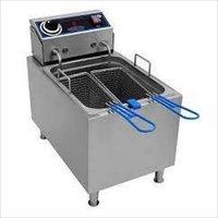 DEEP FRIER (DOUBLE)  ELECTRIC + GAS 5+5 LTR