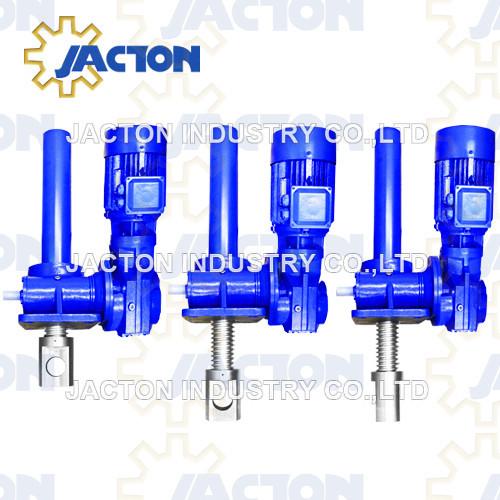 25 tons electrical screw jack actuator 4kw power heavy duty electric actuators
