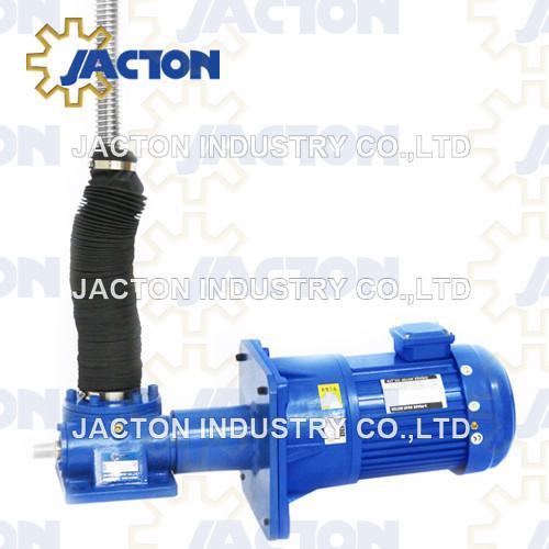 heavy duty electric screw jacks 100 kN force 1180mm electric screw jack lift