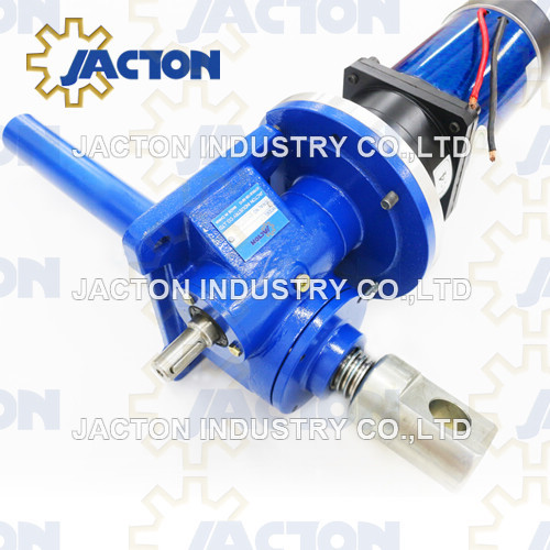 24vdc electric screw jack 5 tons capacity 10 inch electric screw lifts