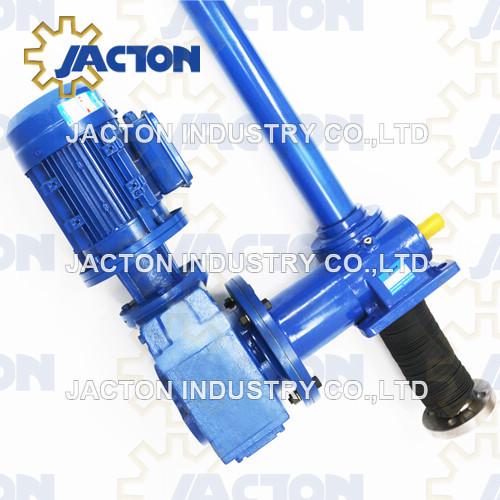 inverted 10 ton electric screw jack 40