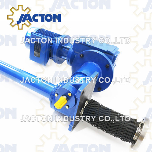 inverted 10 ton electric screw jack 40