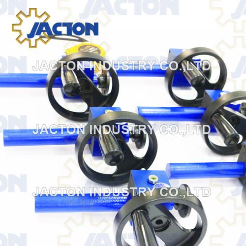 miniature worm gear manual screw jacks 5 kN 5:1 2