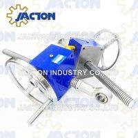 5 ton manual operation worm drive screw jack 10