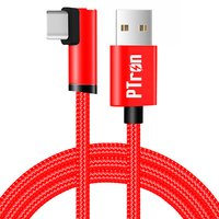 pTron Solero Lite 90-degree Type-C USB Cable 1-Meter in Length