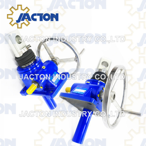 hand screw jack wheel 5-tons 6