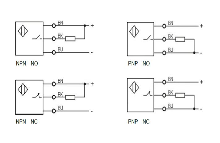 M6 Laser photoelectric sensor through beam type