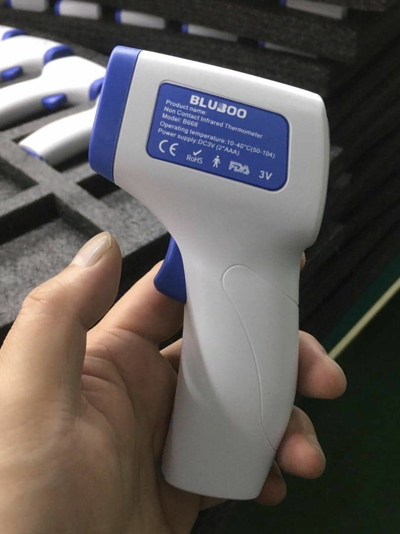 BLUBOO ABS INFRARED THERMOMETER B668