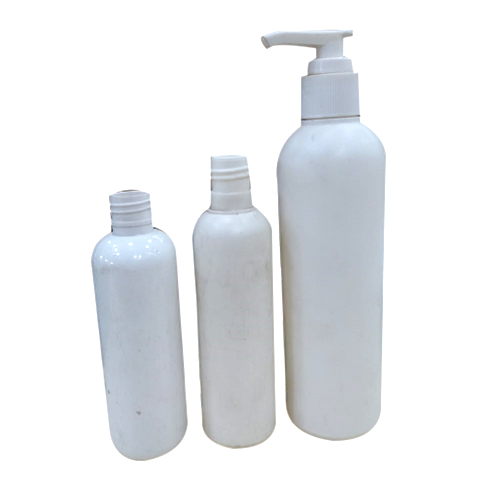 Plastic White Bottles