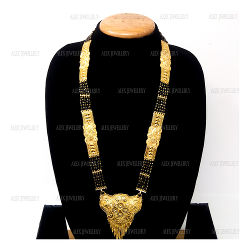 Latest Design Gold Plated Forming Mangalsutra