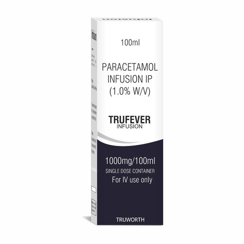 Truworth Trufever Infusion (PARACETAMOL INFUSION)