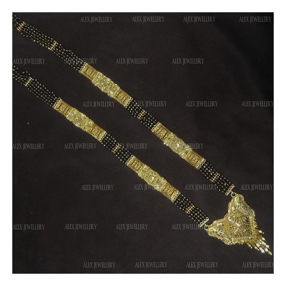 Latest Stylish Design Gold Plated Mangalsutra