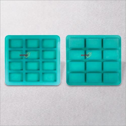 Rectangular Shape Silicone Soap Mould