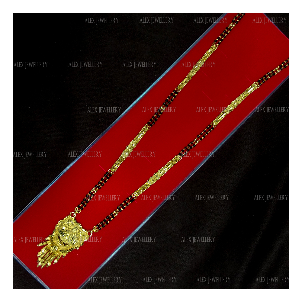 Latest Gold Plated Forming Mangalsutra