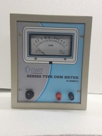Series Type Ohm Meter Portable