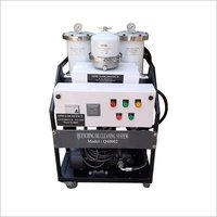 Lube Oil Cleaning Machine