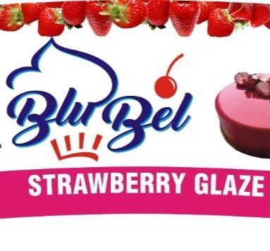 Blu-bel Strawberry Glaze (4kg)