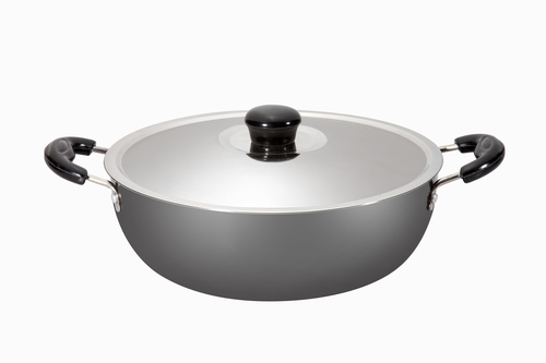 Kadhai 6 Ltr Steel Lid Induction Base
