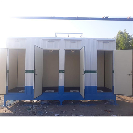 Steel Toilet Block