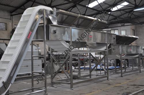 Green Peas Processing Plant