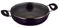 KADHAI 280MM GLASS LID INDUCTION BASE